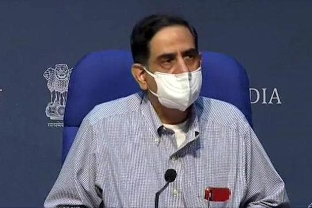 Speaking in the context of UK Covid-19 virus strain mutation, Dr Bhargava said genetic mutations occur in the respiratory viruses but higher transmissibility is a point of concern.(ANI)