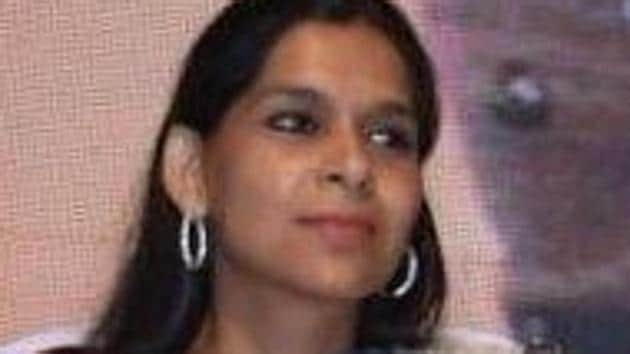 Ruchi Gupta, who is the latest in a long line of leaders to have left the Congress, confirmed to Hindustan Times that she has resigned from her post and quit the national party.(TWITTER/@guptar.)