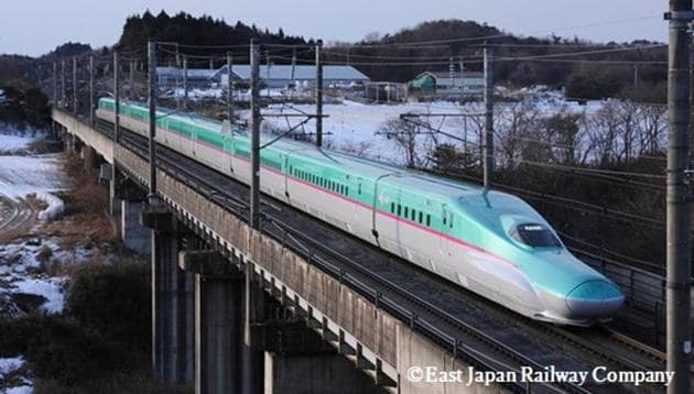 The Embassy of Japan has released the visuals of the model which will run between Ahmedabad and Mumbai once the bullet train project is completed.
