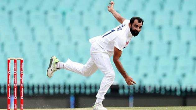 File photo of Indian pacer Mohammed Shami(Twitter)