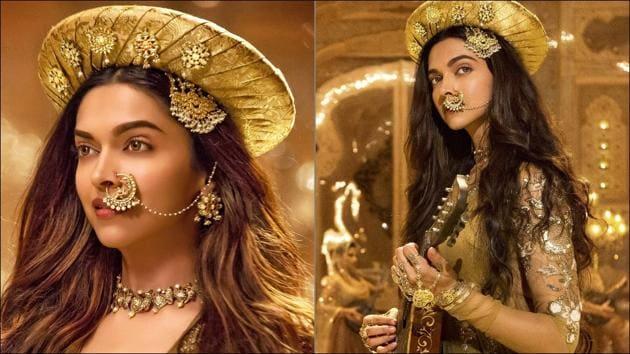 Here's how Deepika's Deewani Mastani lehenga is perfect for your nikaah(Instagram/deepikasouthfc/bollywood_enchanted)