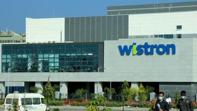 Several thousand contract workers at Wistron angered over alleged non-payment of wages destroyed property, factory gear and iPhones at the plant early on December 12(REUTERS)