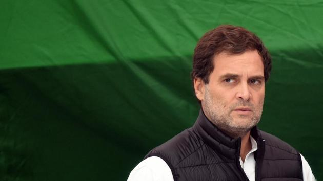 If Rahul Gandhi takes over again, it will help bring back some clear authority in the party — but this may not result in any electoral success. If he doesn't take over, the question is who takes over, whether the new leader will be able to hold the organisation together, and be able to operate autonomously(Raj K Raj/HT PHOTO)