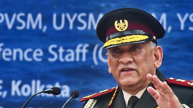 Chief of Defence Staff General Bipin Rawat advised Nepal against signing off on loans from other countries in the region(PTI)