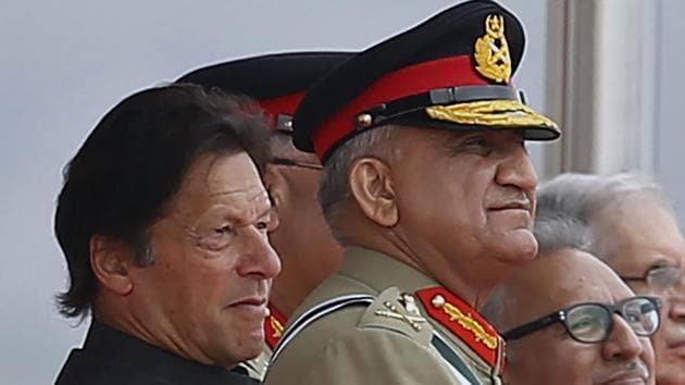 Khan rebutted accusations that he does not have any real authority and said that the Pakistan Army is a state institution, which works under him.(AP)