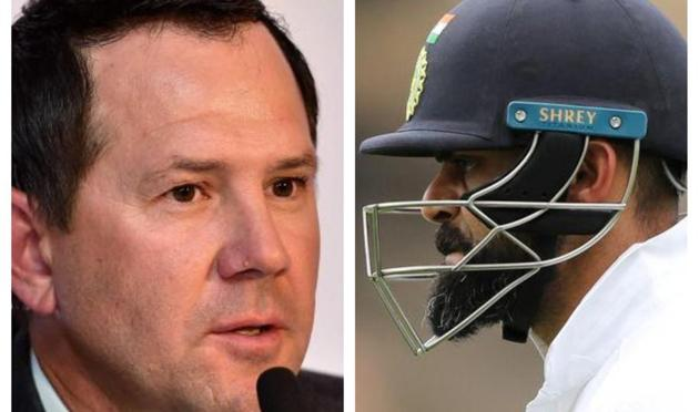 File image of Ricky Ponting and Virat Kohli.(HT Collage)