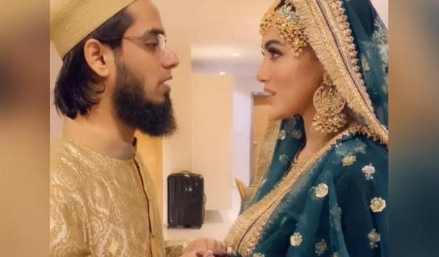 Sana Khan and Anas Saiyad got married on November 20.