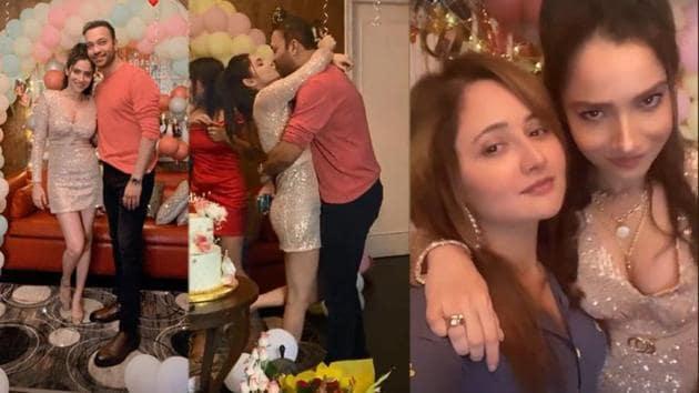Ankita Lokhande had a blast at her birthday party.