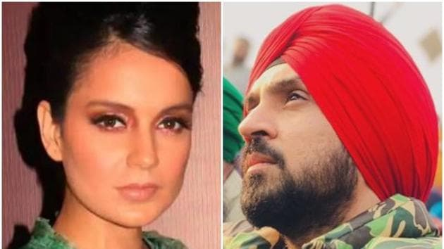 Diljit Dosanjh and Kangana Ranaut have been involved in a Twitter feud.
