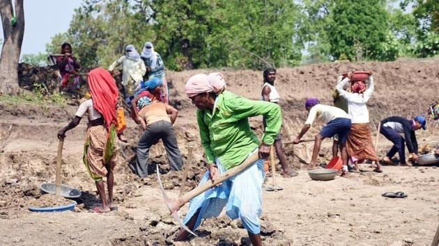 While additional allocations of ₹40,000 crore have been made for the MGNREGS, and this is a welcome step, the scheme is still struggling to meet current demand(ANI)