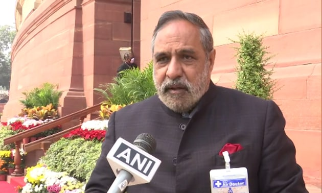 Anand Sharma was a part of the group of 23 dissenters who wrote to party president Sonia Gandhi earlier this year, seeking a complete overhaul of the organisation within Congress.(ANI Twitter)