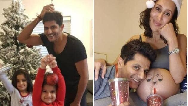 Karanvir Bohra welcomed a daughter with wife Teejay Sidhu.