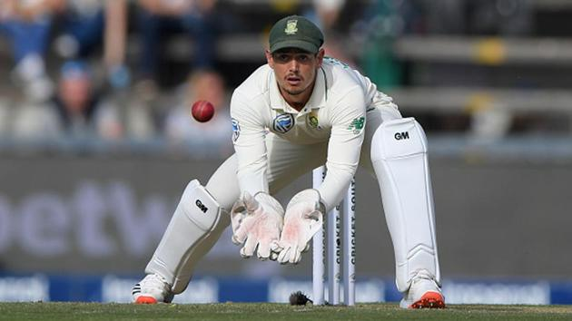 South Africa's Quinton de Kock in action(Getty Images)
