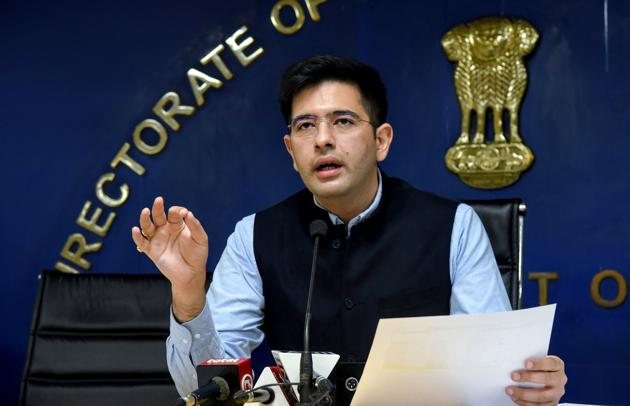 AAP leader Raghav Chadha.(ANI file photo)