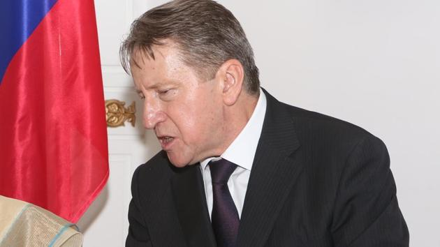 Russian ambassador Nikolay R Kudashev.(HT Archive)