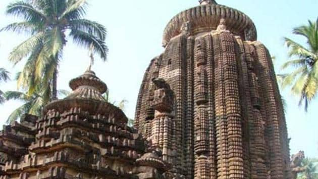 The temple named after Daksha, the father of Lord Shiva's consort Parvati, is dedicated to Lord Shiva. Known for its architectural composition, the temple has been under the supervision of the Archaeological Survey of India (ASI).(HT PHOTO.)