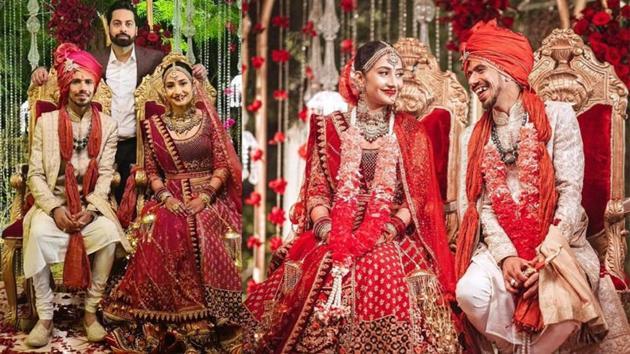 Yuzvendra Chahal and Dhanashree Verma get hitched.