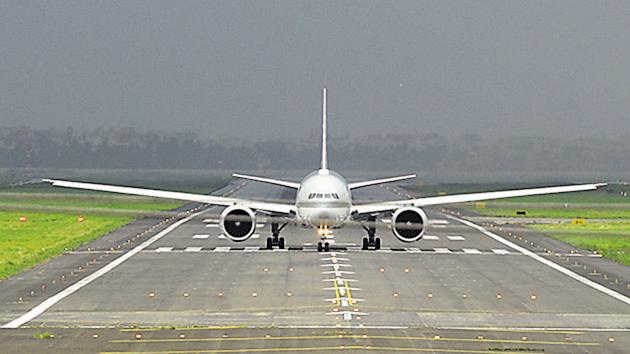 (Representative image) The airport has been built at an investment of ₹520 crore.(HT Photo)