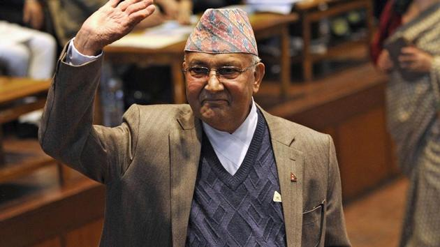Nepal's prime minister KP Sharma Oli has expanded the central committee of the Nepal Communist Party where he does not have majority support(AFP)