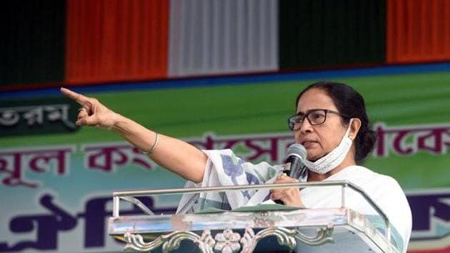 File photo: West Bengal chief minister Mamata Banerjee.(ANI)