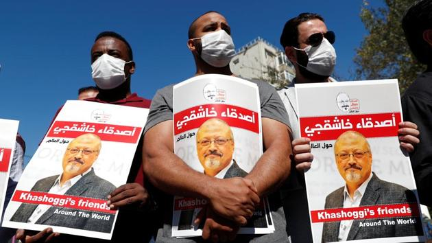 NSO's spyware was also been linked to the slaying of Washington Post journalist Jamal Khashoggi, who was murdered and dismembered in the Saudi consulate in Istanbul in 2018.(REUTERS)