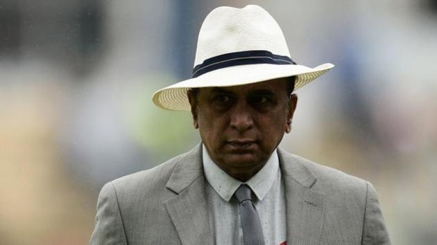 Photo of former Indian captain Sunil Gavaskar(Twitter)