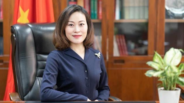 Chinese ambassador Hou Yanqi.(File photo)