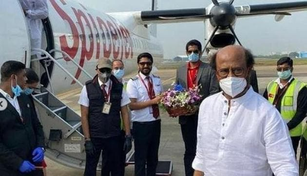 Rajinikanth had reached Hyderabad earlier in the month for the shoot of Annaatthe.