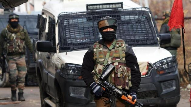 Last month, security forces had also discovered a cross-border tunnel, which was used by four Jaish terrorists to enter Jammu before they were killed in an operation at Ban toll plaza near Nagrota.(ANI file photo. Representative image)