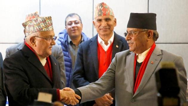 Pushpa Kamal Dahal 'Prachanda' said that his first priority would be to restore the dissolved House of Representatives and form a new government(REUTERS)