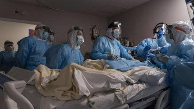 In California, an epicenter of the latest surge, intensive care unit (ICU) beds were scarce and hospitals said they lacked enough doctors and nurses to care for patients.(AFP (Representative Image))