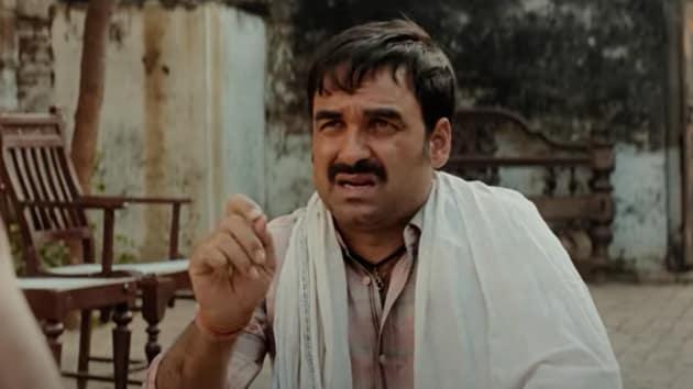 Pankaj Tripathi plays Bharat Lal Mritak in Kaagaz.