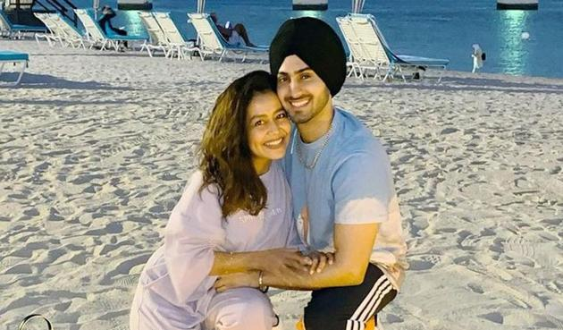 Neha Kakkar and Rohanpreet Singh got married in October, two months after they first met.
