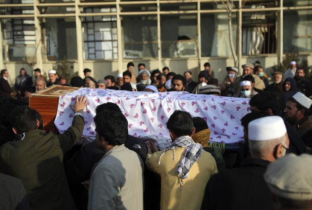 Separate bombing and shooting attacks in Afghanistan's capital left several people dead Wednesday, including Rasheed, the head of the independent elections watchdog.(AP)