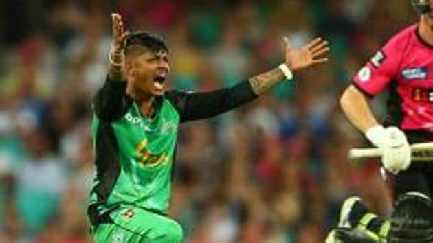 File photo of Sandeep Lamichhane.(Getty Images)