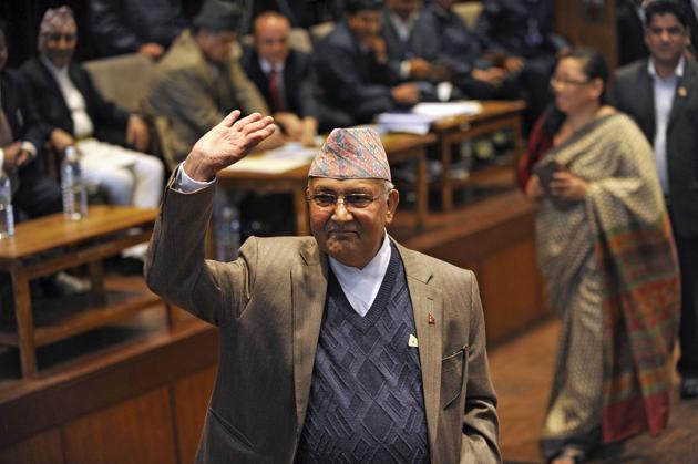 Oli's decision needs to be seen in a larger global context of democratically-elected leaders undermining democracy.(AFP)
