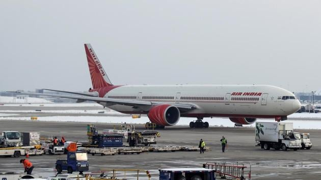 File phoro of an Air India Boeing 777-300ER plane.(REUTERS)