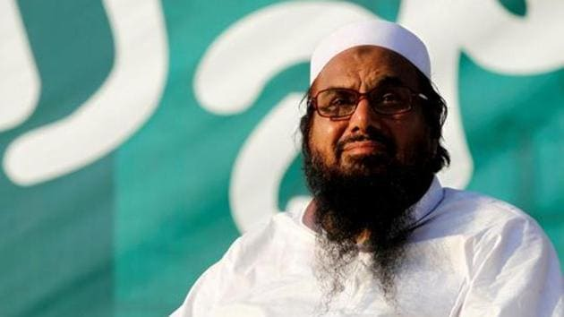 Hafiz Saeed will have to undergo collective imprisonment of over 36 years in five terror financing cases at the Kot Lakhpat Jail in Lahore.(REUTERS)