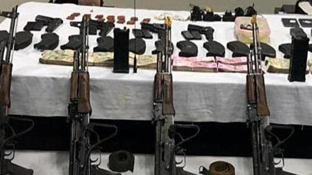 Nijjar's name appeared in the arm supply case registered in Sirhind police station of Fatehgarh Sahib in 2018 with the busting of a pro-Khalistan module.(ANI Photo Representational)