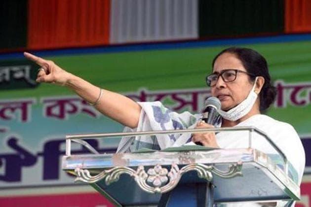 West Bengal chief minister Mamata Banerjee addresses a public meeting, Jalpaiguri district, December 16, 2020(ANI)