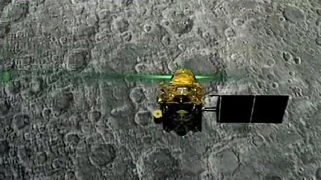 Chandrayaan-2 was launched on July 22, 2019 and inserted into the lunar orbit on August 20.(PTI photo)