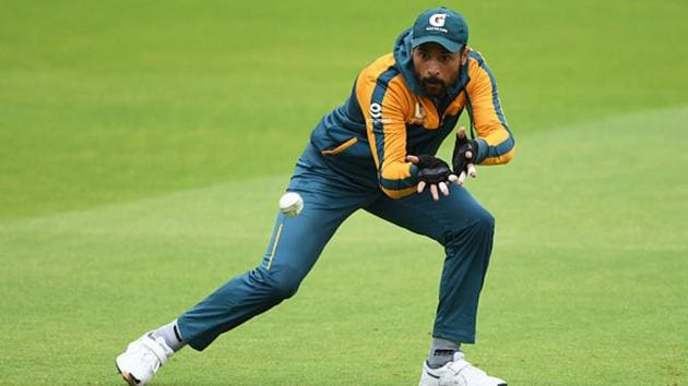 Mohammad Amir during a fielding drill.(Getty Images)