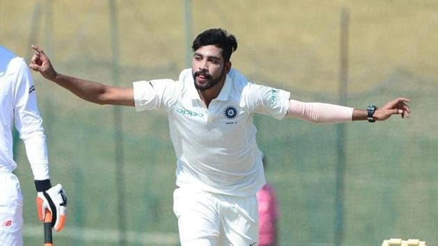 Mohammed Siraj will make his debut for India in the Boxing Day Test(Twitter)