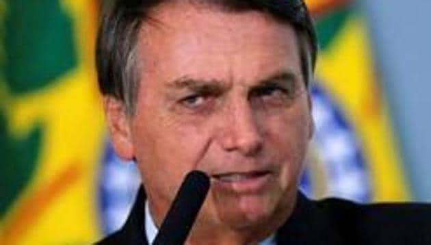 "Brazilian President Jair Bolsonaro said ""the efficacy of that vaccine of Sao Paulo seems to be very low,"" though he gave nothing specific.(REUTERS)"
