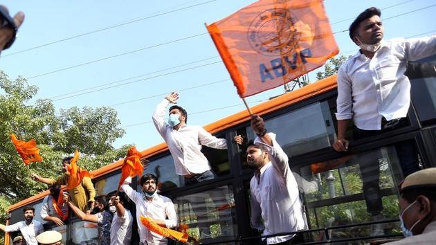 """Apologising for the outfit's action, ABVP's Baghpat district coordinator Ankur Chaudhary said, """"We tender our apology to the Digambar Jain community and what occurred was due to our ignorance.""""(ANI file photo)"""