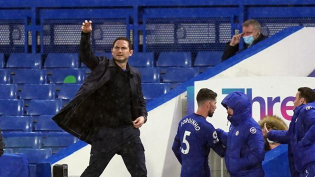 Chelsea manager Frank Lampard(Pool via REUTERS)