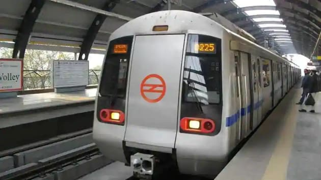 Delhi metro will get its first driverless train on December 28.(HT Photo)