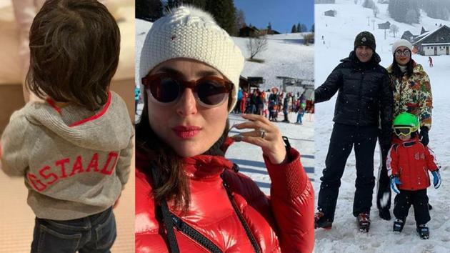 Kareena Kapoor has shared throwback pictures from her family vacation in Switzerland.