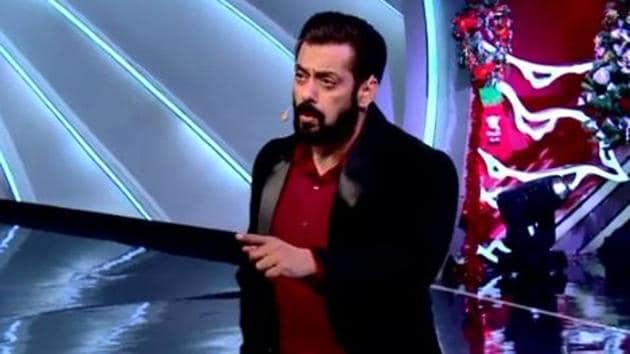 Salman Khan lashes out at Rahul Vaidya on Bigg Boss 14.