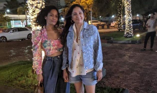 Masaba Gupta with her mother Neena Gupta.